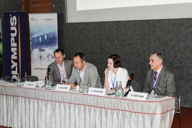 Panel přednášejících v sekci funkční urologie<br> Fig. 1. Speakers in the section of functional urology