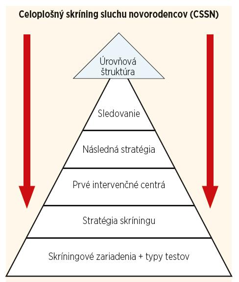 Schéma 2. Úrovňová schéma CSSN podľa odporúčaní SZO so zameraním na štruktúru systému (2017).