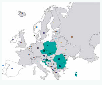 Obr. | Země zařazené do regionální studie 377