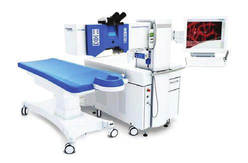 Excmier laser Excimer Amaris 500 (Schwind eyetech- solutions GmbH and Co KG, Kleinostheim, Germany)