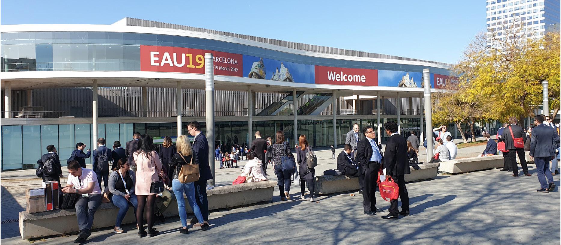 34. výroční konference Evropské urologické společnosti se konala v příjemných prostorách Fira Gran Via v Barceloně<br> Fig. 1. The 34<sup>th</sup> Annual EAU Congress takes place at Fira Gran Via in Barcelona