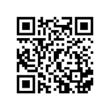 QR kód odkazující na adresu videa na Youtube sestaveného z echokardiografických smyček. Dostupné z WWW: <https://www.youtube. com/watch?v=HR023FJ5HMA>