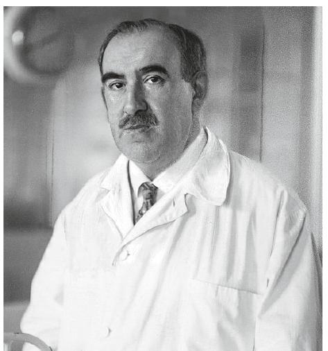 Leopold Moll (Foto Hermann Bruehlmeyer, Das Blatt der Hausfrau 15/1933, Wien).