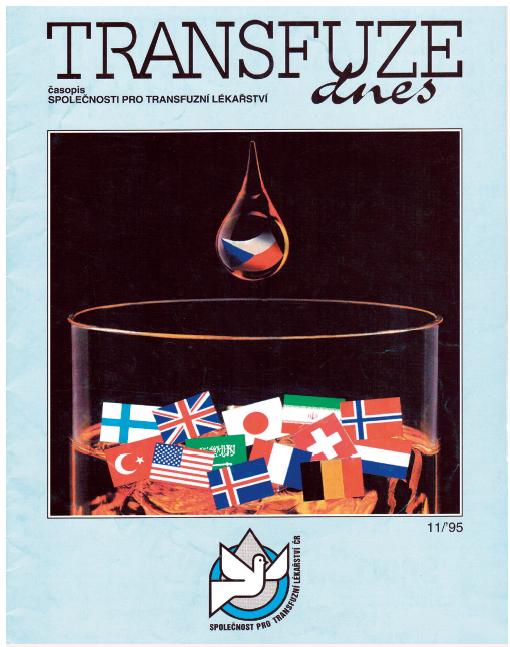 Transfuze dnes se stává časopisem
