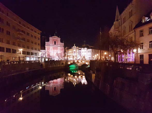 Noční Lublaň<br>