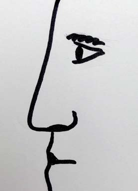 Řecký tvar nosu
