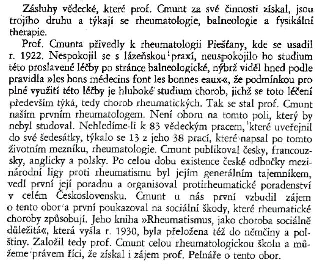Profesor Lenoch – Věstník československé fyziatrické společnosti, 1948