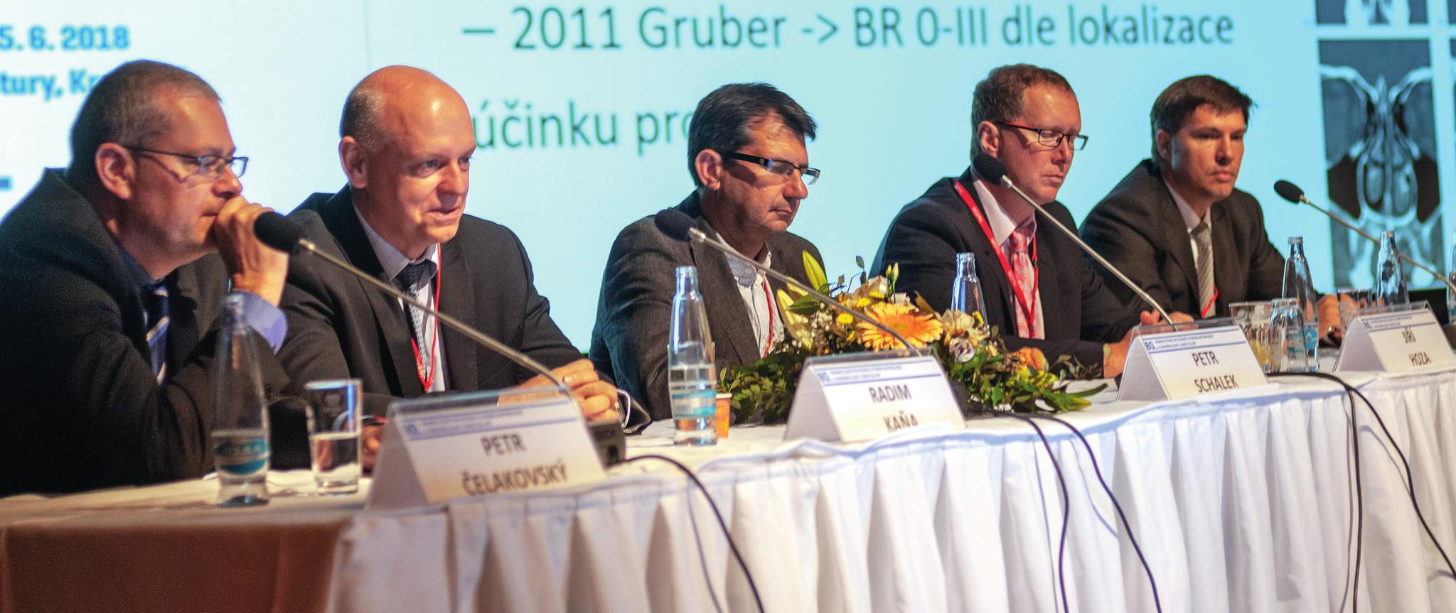 Panelová diskuse na téma nosní obstrukce