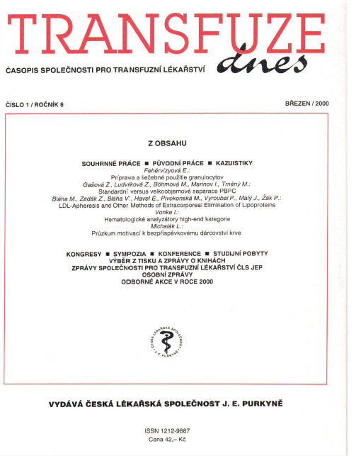 Časopis vydává Česká lékařská společnost J. E. Purkyně