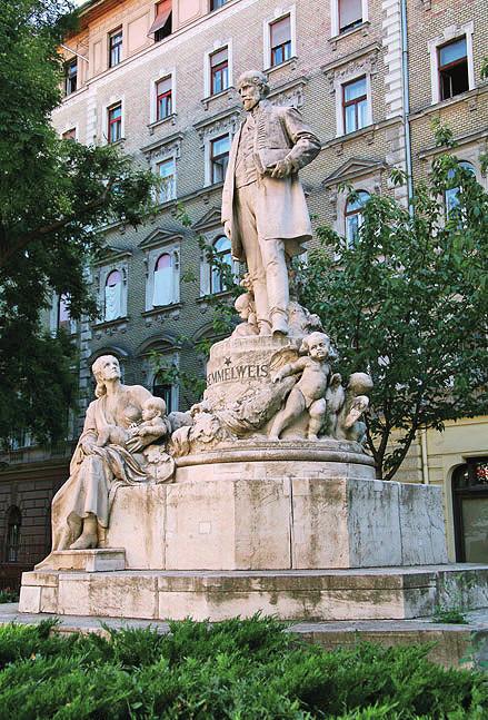 Monument I. Semmelweisse v Budapešti