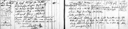 Zápis sňatku Josefova tchána J. Součka s tchyní A. Štecherovou (1827)
