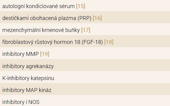 Strukturální studie s cílenými léky pro léčbu osteoartrózy