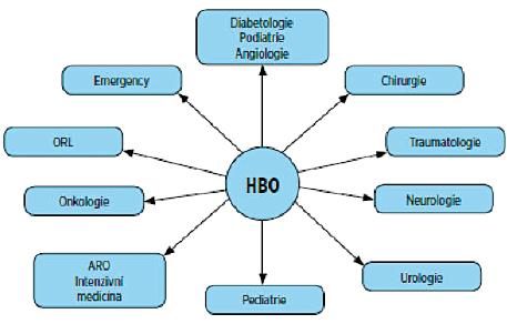 Multidisciplinární charakter hyperbarické medicíny